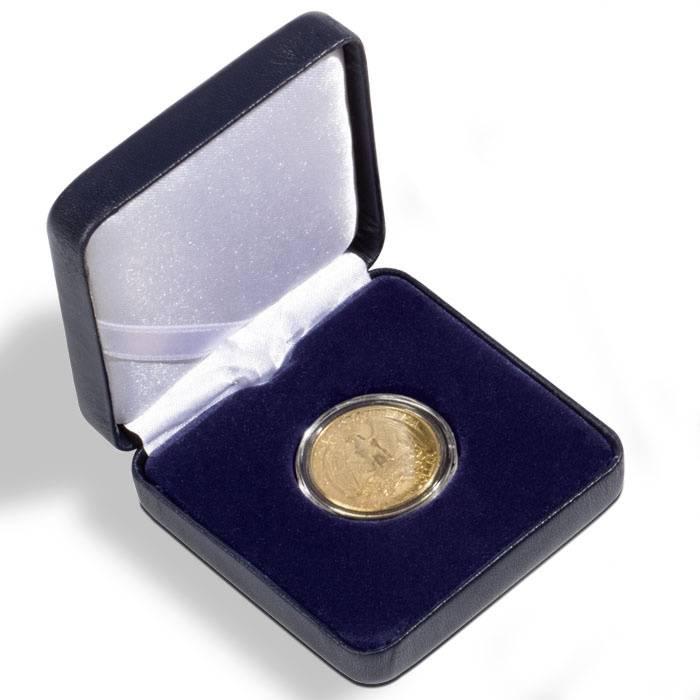 Münzetui NOBILE bis 38 mm ss, schwarz