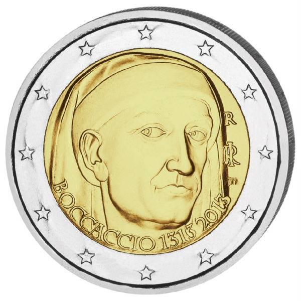 Boccaccio 2013 2 Euro Münze