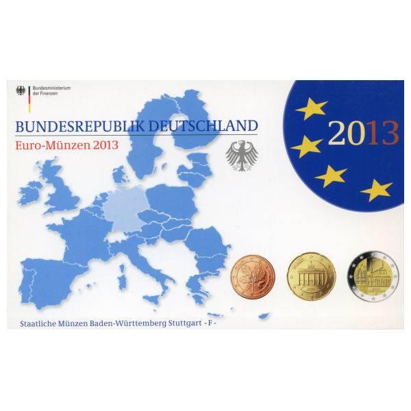 Kursmünzensatz Pp Brd Aus 2013