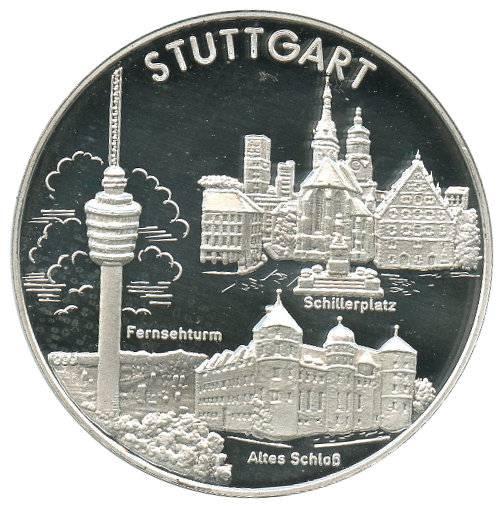 Stuttgarter Taler Münzmanufaktur 20 G Silber