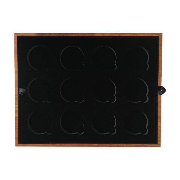 Krügerrand Einlage für 12 x 1 oz Goldmünzen in Kapsel mit 39 mm Durchmesser
