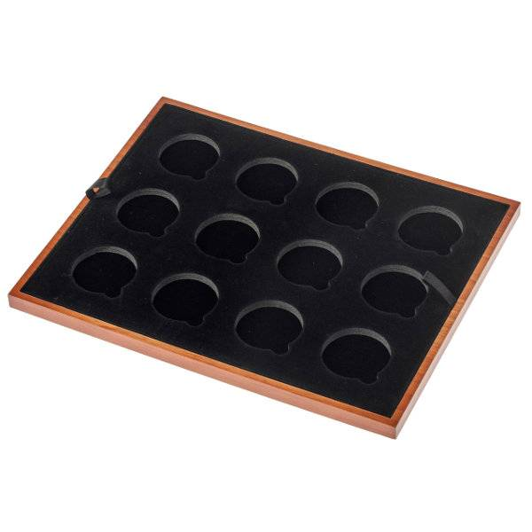 Einlage 48 mm für 15 Münzen zu Universalmünzbox