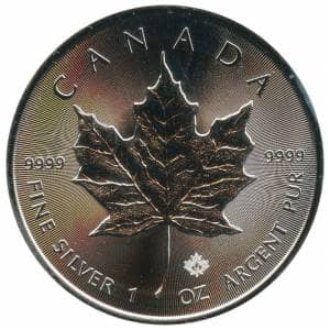 Maple Leaf Silbermünzen Zu Aktuellen Handelspreisen