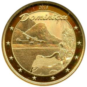 Bild von 1 oz The Nature Isle Dominica Gold - 2018