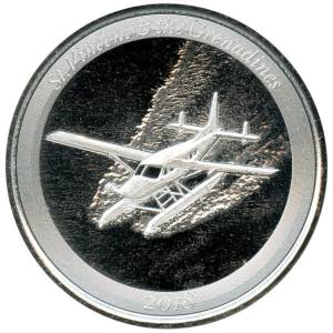 Bild von 1 oz Seaplane Silber St. Vincent & the Grenadines - 2018