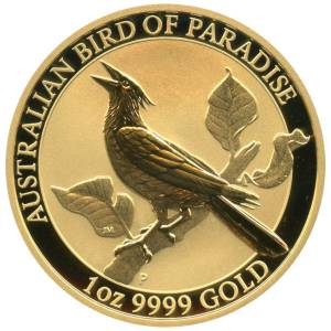 Bild von 1 oz Gold Australian Bird of Paradise - 2019