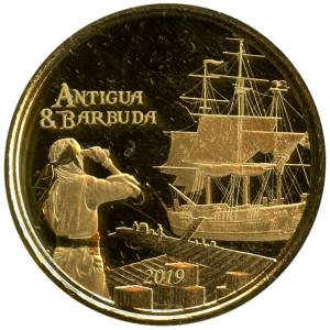 Bild von 1 oz Gold EC8 Antigua & Barbuda - Rum Runner 2019